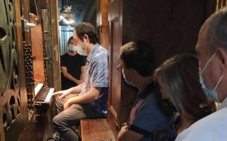 Es prorroguen les visites guiades a l'Orgue de la Catedral de Solsona tots els caps de setmana d'octubre