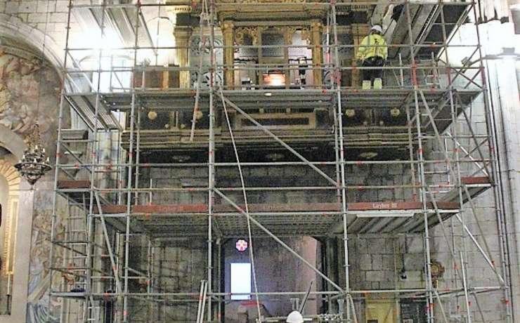 Comença la segona fase de la restauració de l'orgue de la Catedral de Solsona