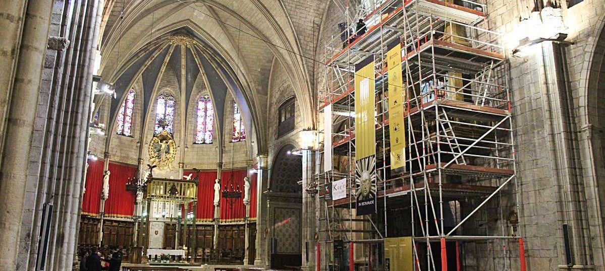 Un impuls en el finançament ajuda a continuar la restauració de l'orgue
