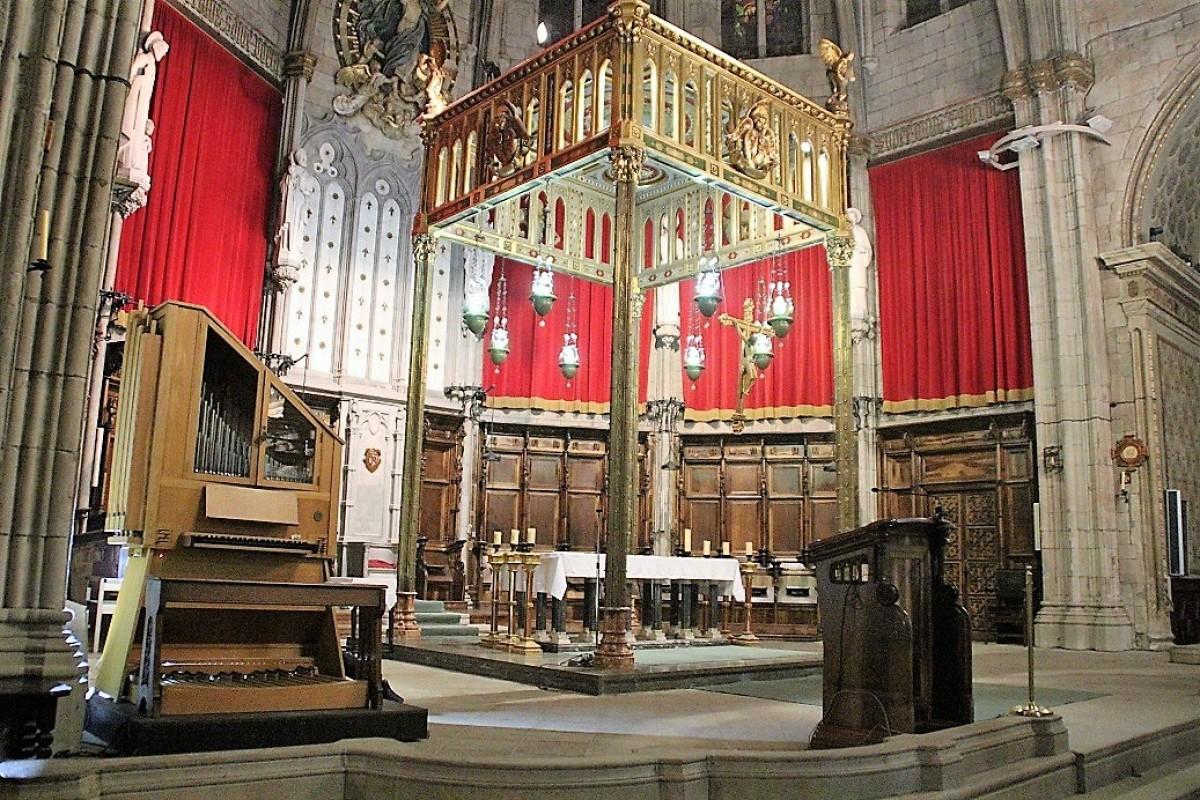 La Catedral disposarà d'un orgue provisional mentre durin els treballs de restauració